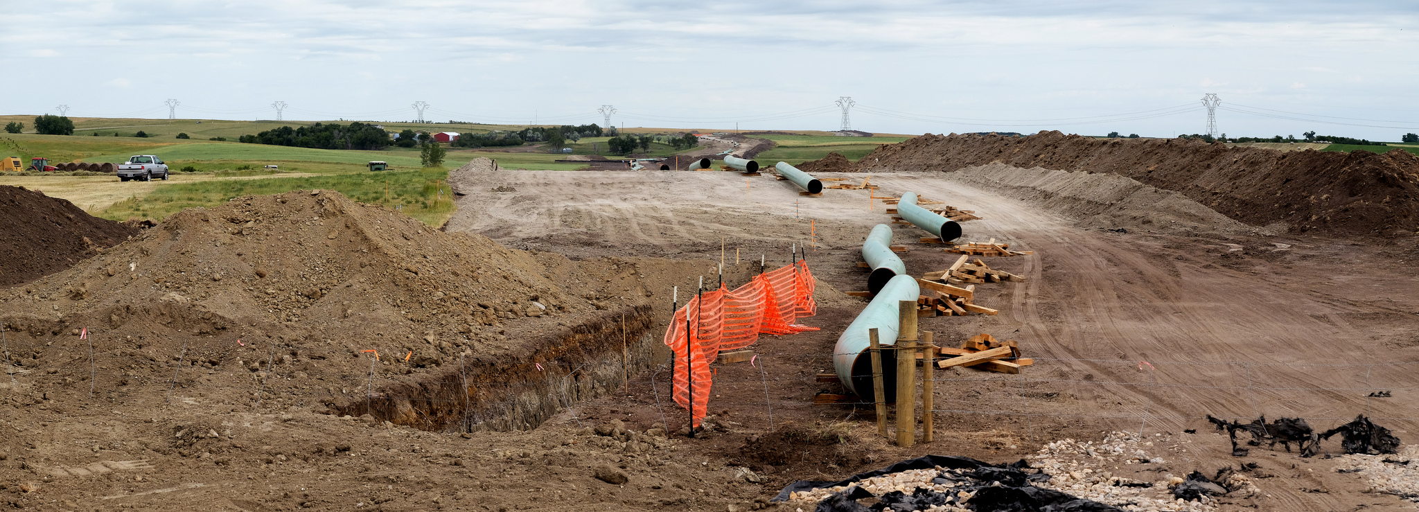 TransCanada says in a statement that pipelines in the area currently don't have enough capacity to handle growing production. (Photo: Lars Plougmann/ Flickr)