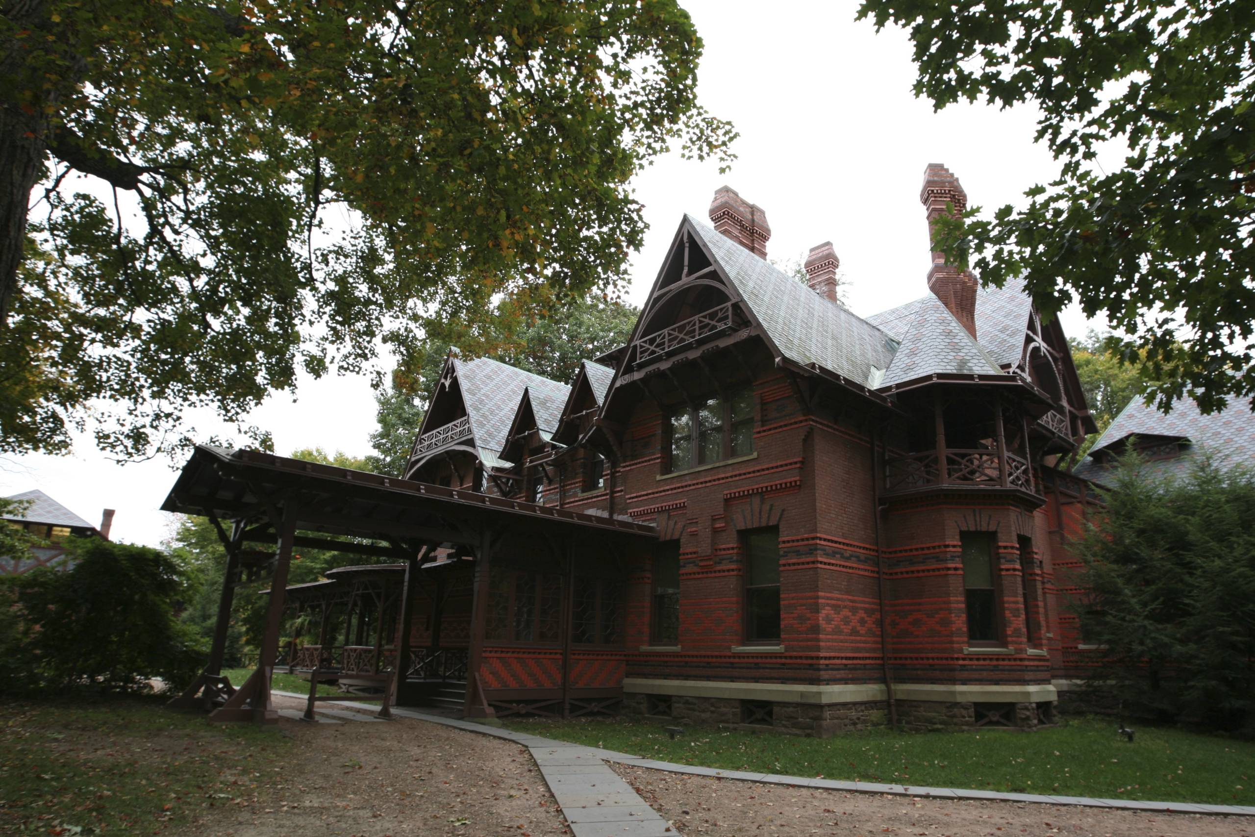 Mark Twain House & Museum in Connecticut. (Photo: Ed Schipul/Flickr)