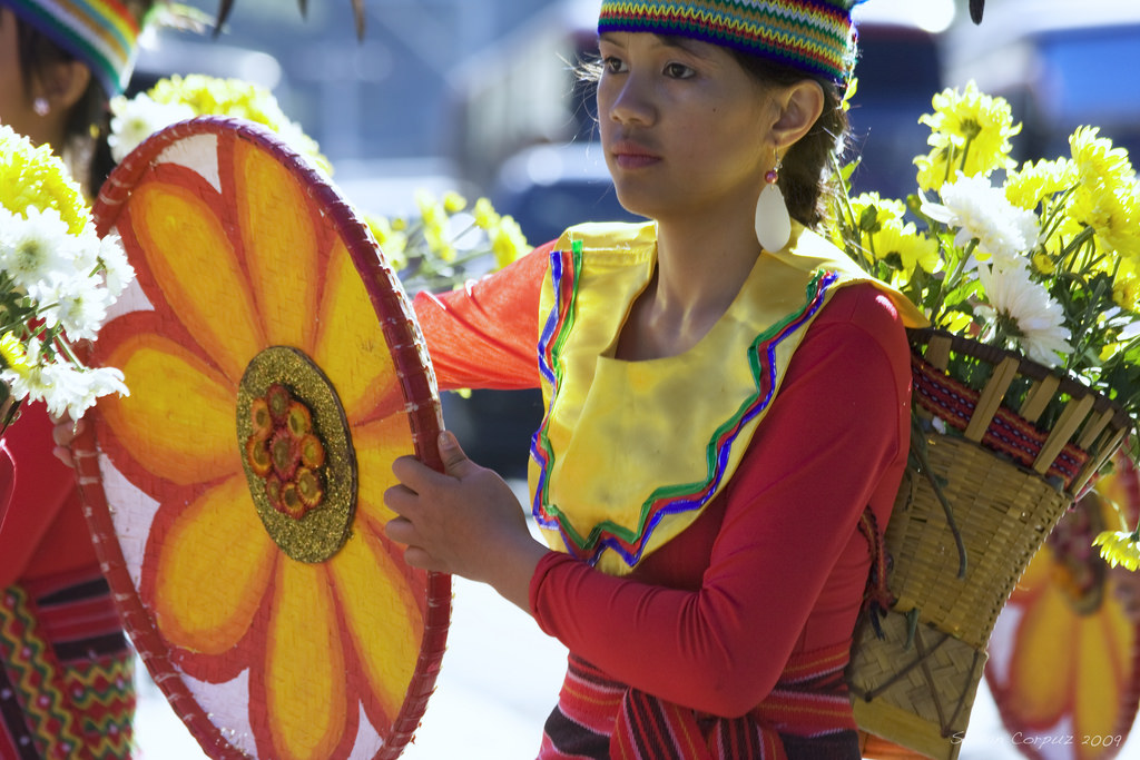 "The Baguio Flower Festival – Panagbenga, continues to live up to its name and remains to be the most orderly and organized festival in the country with this year's theme, ""Inspired by Beauty, Nurtured by Nature"". (Photo: susancorpuz90/Flickr)"