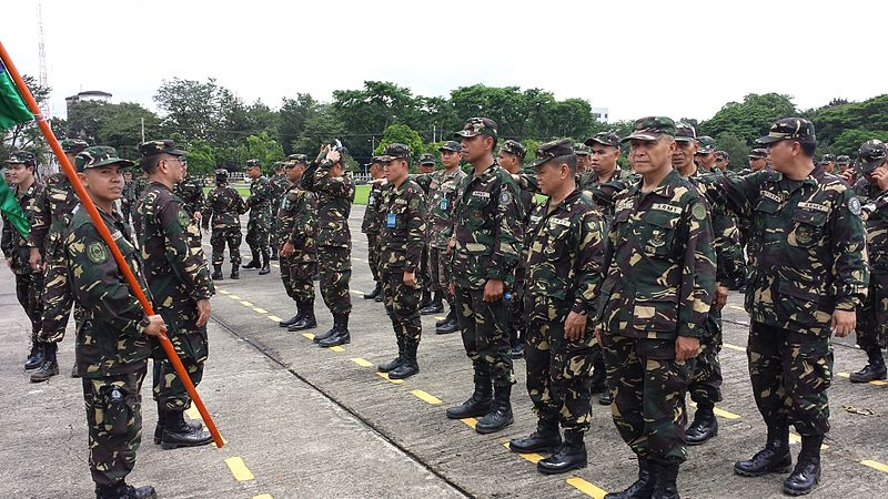 Pres. Duterte urges soldiers to limit children to 3 (Photo By Lt Jin Panganiban (Own work) [CC BY-SA 4.0)