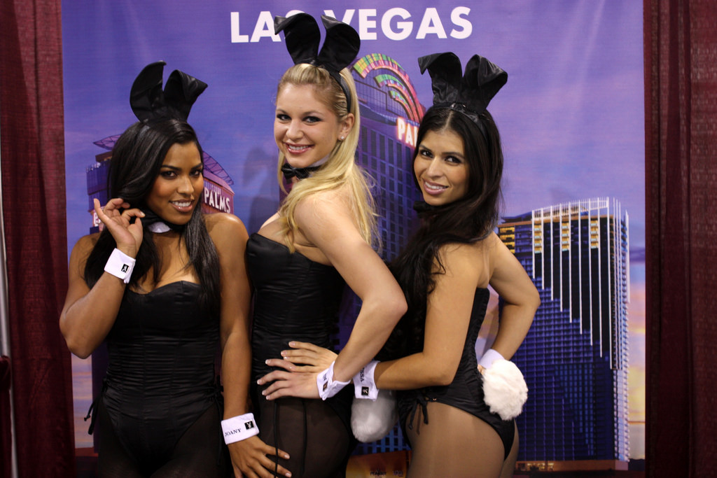 The tightly corseted Playboy Bunnies with rabbit tails and ears will soon be back in business in New York City. (Photo: Michael Dorausch/ Flickr)