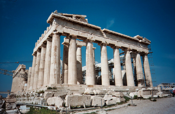 v Greece's culture ministry has rejected a request by Italian luxury brand Gucci to use the ancient Acropolis for a fashion event this summer. (Photo: Michel Curi/Flickr)