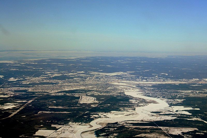 Prime Minister Justin Trudeau praised the community spirit that New Brunswickers showed in dealing with last week's ice storm as he visited some of the most hard hit communities Friday night. (Photo By Shawn from Airdrie, Canada (Descending towards Moncton) [CC BY-SA 2.0 (http://creativecommons.org/licenses/by-sa/2.0)])