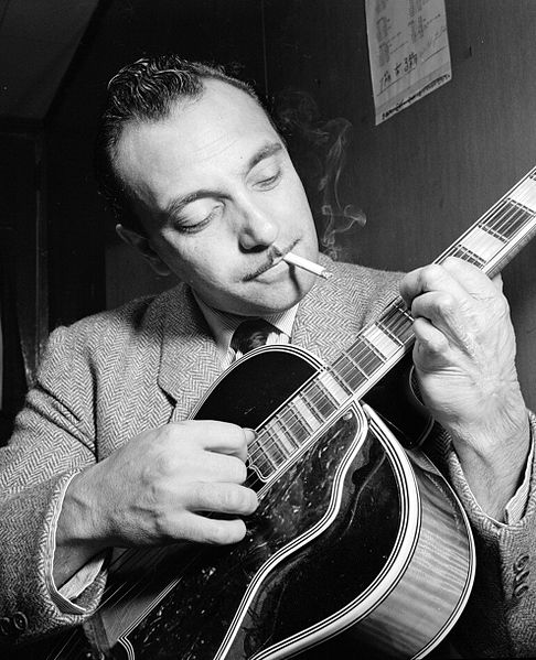 The curtain is going up on the annual Berlin International Film Festival, with a French film about jazz guitarist Django Reinhardt kicking off the first of the year's major European movie fests. (Photo by William P. Gottlieb [Public domain])
