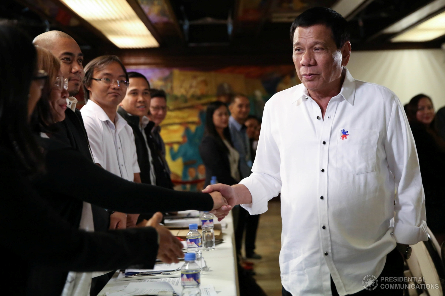 Palace welcomes survey on how democracy works under Duterte administration (Photo: TOTO LOZANO/Presidential Photo)