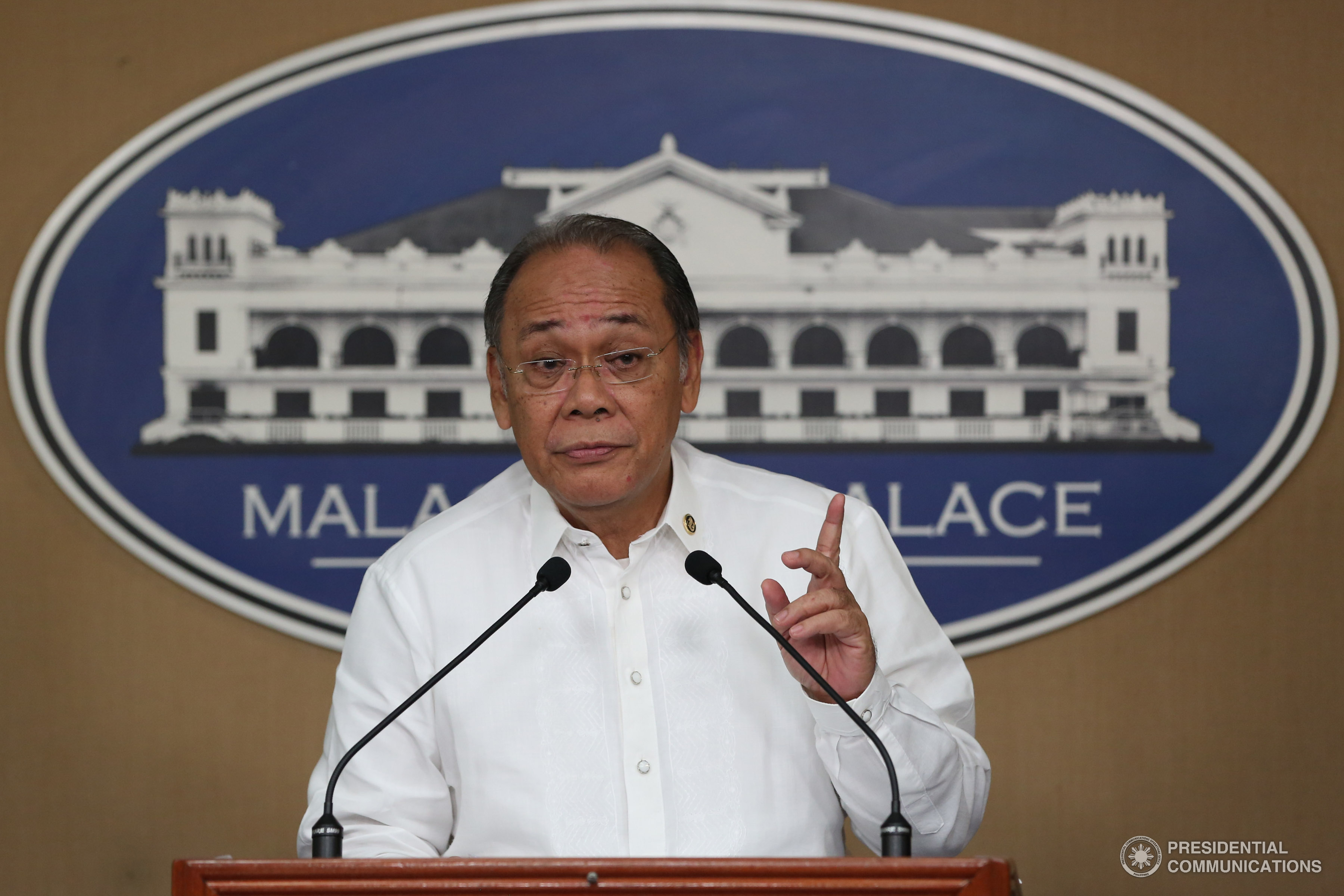 Presidential Spokesperson Ernesto Abella. (PCOO photo)