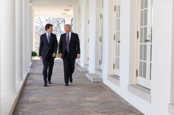 Prime Minister Justin Trudeau and U.S. President Donald Trump joined forces last month to promote female participation in the workforce, but the contrast between how their governments approach other gender issues is now on display at the United Nations. (Photo: https://twitter.com/realDonaldTrump/Facebook)