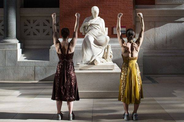 The Met commissioned the innovative Monica Bill Barnes Dance Company for the project. (Photo: The Metropolitan Museum of Art)