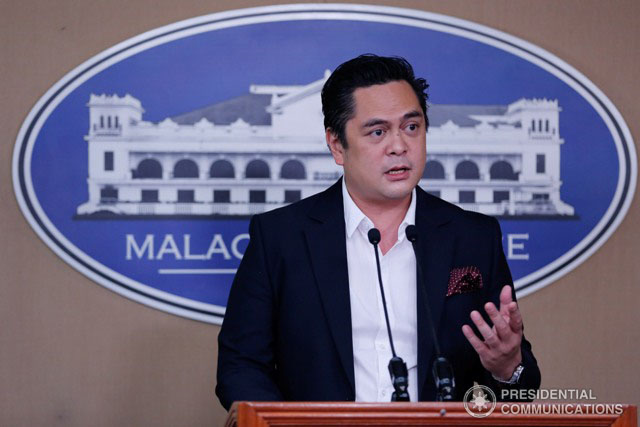 "The demolition job against President Rodrigo Duterte continues,"" Presidential Communications Secretary Martin Andanar said of the sudden turnaround of SPO3 Arthur Lascañas. (Photo: TOTO LOZANO/PPD)"