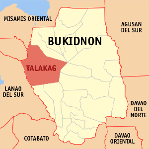 An estimated force of 200 suspected New People's Army (NPA) have attacked a private home in Talakag, Bukidnon, abducting the owner and two government personnel, including one police officer, Thursday morning. (Photo By Mike Gonzalez (TheCoffee) - English Wikipedia, CC BY-SA 3.0,)