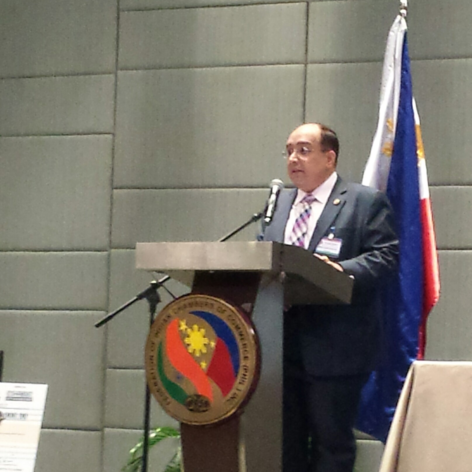 Federation of Indian Chambers of Commerce (Philippines) Inc. (FICCI) is seeking closer economic cooperation between Manila and New Delhi, its president Rex Daryanani has said. (PNA Photo)