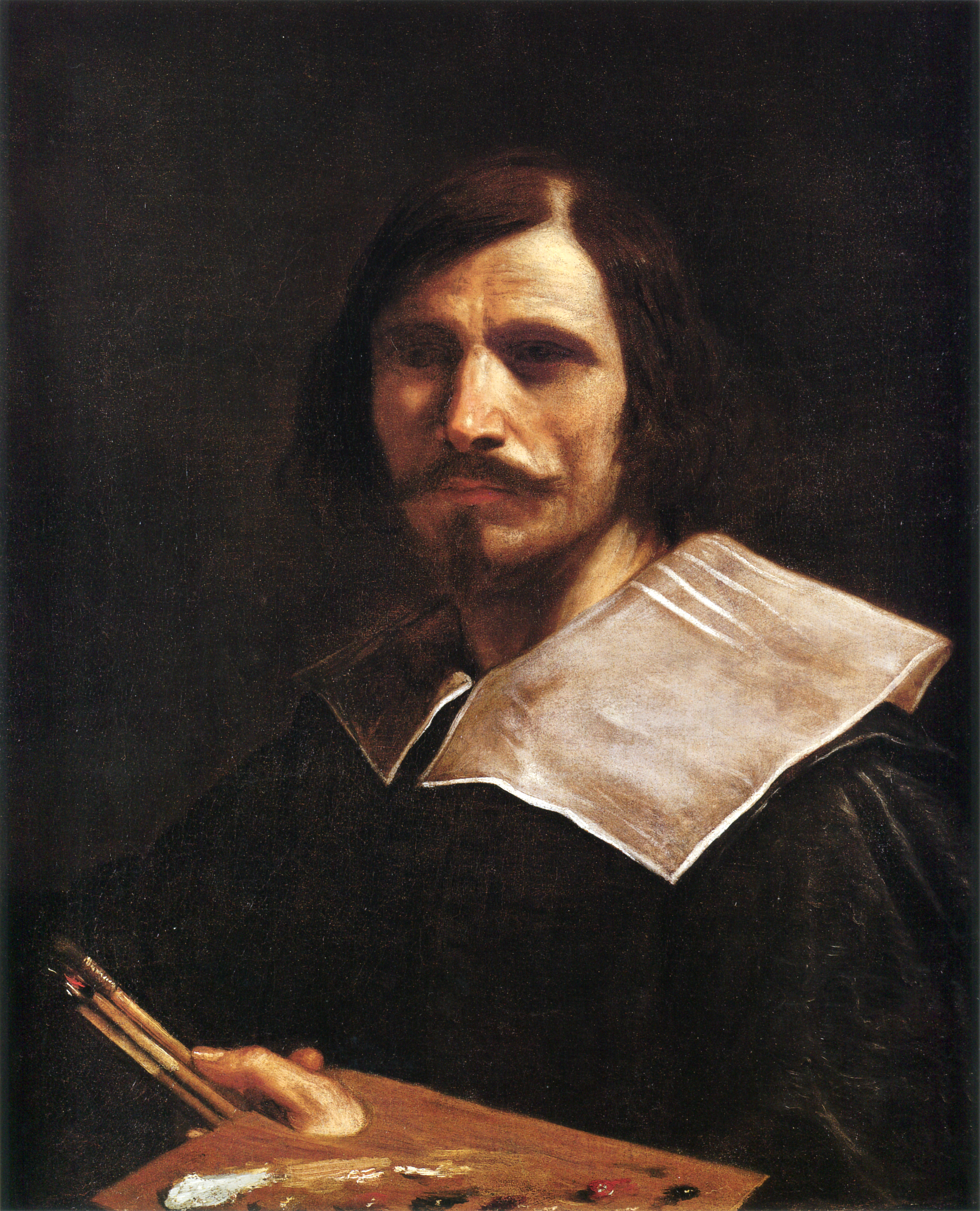 The 1639 painting, by Giovanni Francesco Barbieri (pictured), known as Guercino, had been stolen from the St. Vincent church of Modena between Aug. 10-13, 2014. (Wikimedia Commons photo)