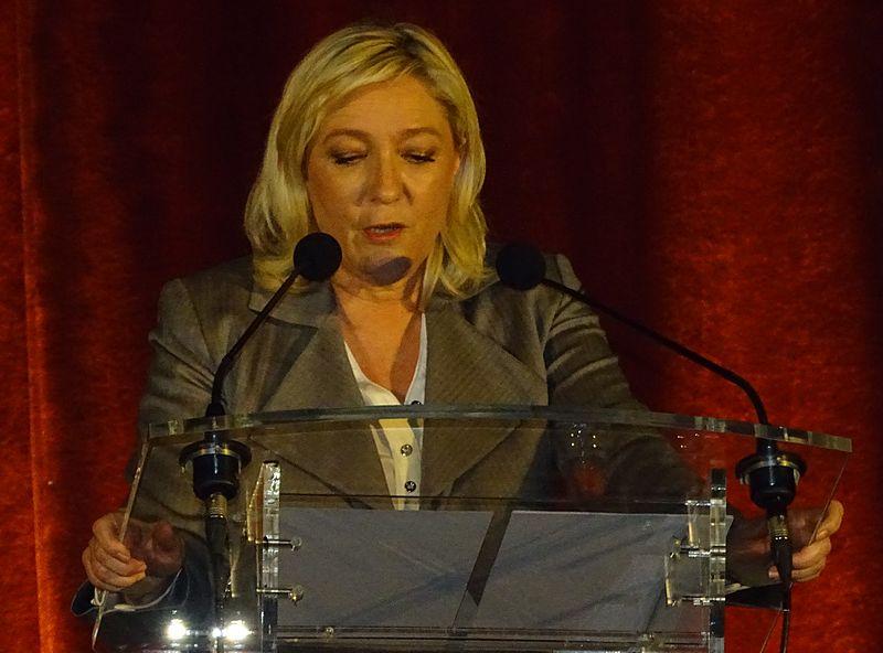 Marine Le Pen's party calls Quebec mosque shooting 'deplorable' (Photo by Jérémy-Günther-Heinz Jähnick / Hénin-Beaumont - Meeting de soutien aux candidats des cantons de Hénin-Beaumont-1 et Hénin-Beaumont-2 en présence de Marine Le Pen (16)/Wikimedia Commons)