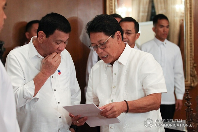 After nine months of numerous dialogues and consultations with employers and workers, the Department of Labor and Employment (DOLE) has finally approved Department Order (DO) No. 174 on contracting and subcontracting on Thursday.  (Photo: KING RODRIGUEZ/Presidential Photo)