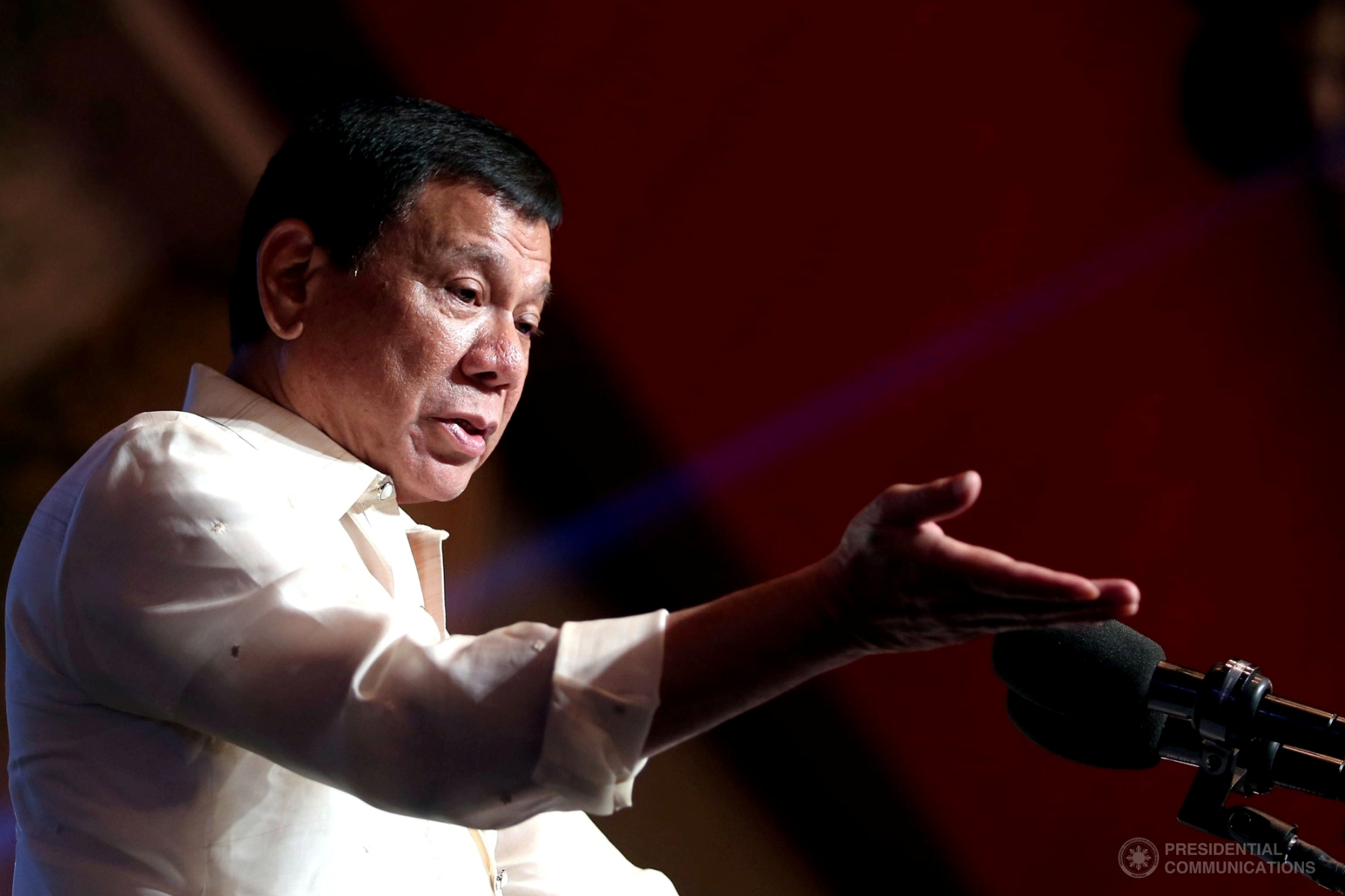 President Rodrigo Duterte on Tuesday said that the government is again engaged in dialogues with the Communist Party of the Philippines-New People's Army-National Democratic Front (CPP-NPA-NDF) but stressed that parameters for a ceasefire would be clearly set. (Photo: ALFRED FRIAS/Presidential Photo)