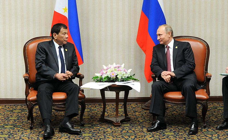 PHL, Russia enhance security cooperation (Photo by Kremlin.ru [CC BY 4.0)