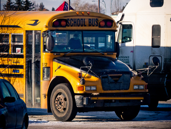 Quebec provincial police are investigating reports an elementary school student handed out pills on a school bus earlier in the week. (Photo: Kurt Bauschardt/Flickr)
