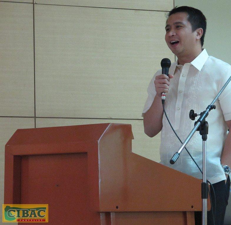 Partylist solon urges swift passage of WPP reform bill (Photo: CIBAC Party-List/Facebook)