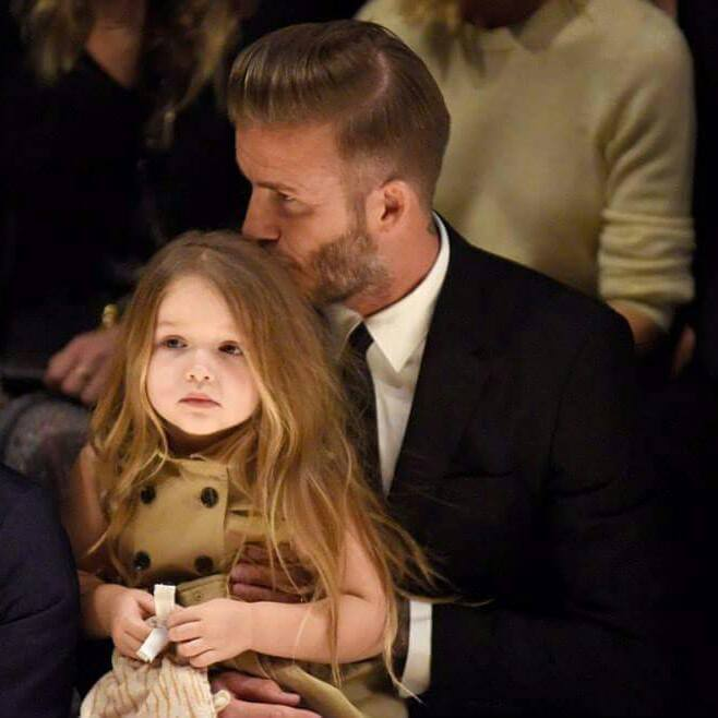 Harper Beckham is only 5 years old, but her famous mother already is taking steps to protect her brand. (Photo: Harper Beckham/Facebook)