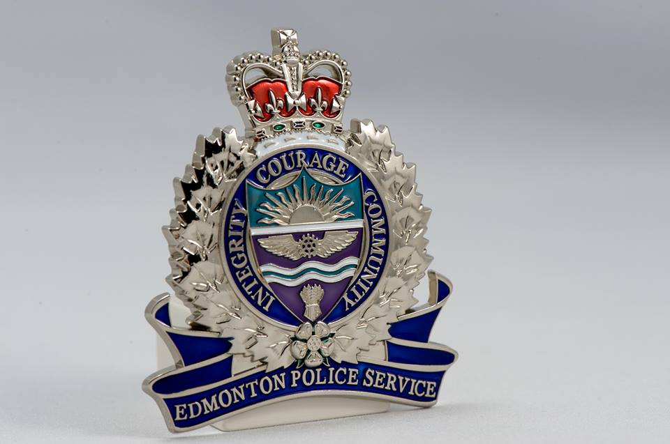 Police responded to a weapons complaint in a field near 57 Street and 19A Avenue at approximately 8 p.m. Tuesday. (Photo: Edmonton Police Service/ Facebook)