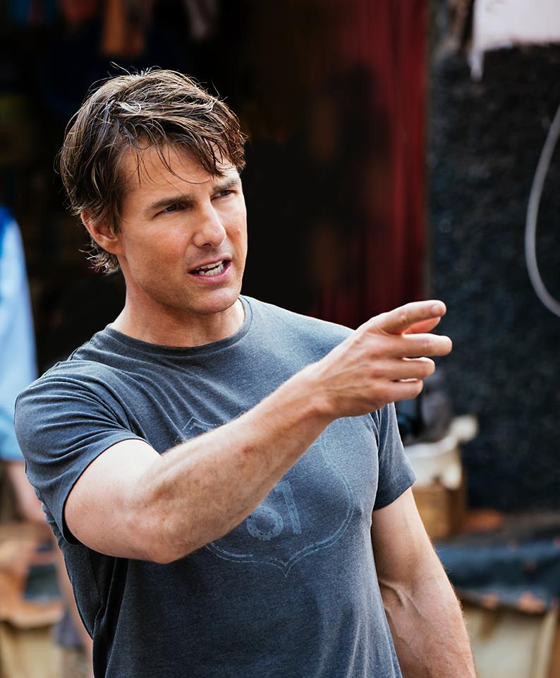 Cruise, who is playing protagonist Ethan Hunt in the movie, shot on a rooftop for the stunt that appeared to involve helicopters, reported Mirror. (Photo:  Tom Cruise/ Facebook)