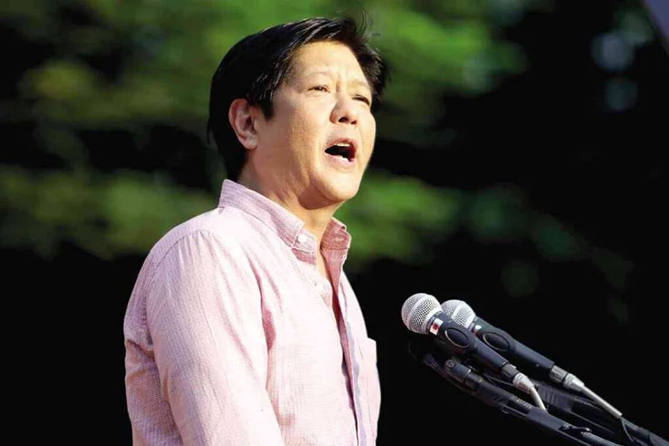 "Former Senator Ferdinand 'Bongbong' Marcos Jr., on Thursday filed an omnibus motion before the Supreme Court (SC) sitting as the Presidential Electoral Tribunal (PET) to dismiss counter protest filed by Vice President Maria Leonor ""Leni"" Robredo after she failed to pay the first installment for the election protest case. (Photo: Pres. Ferdinand Emmanuel E. Marcos/Facebook)"