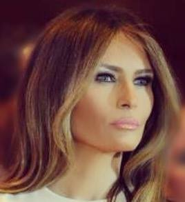 """Off in the distance, young patients can see the Washington Monument from the hospital's new rooftop """"healing"""" garden, dedicated Friday by first lady Melania Trump as a place children and their families can breathe fresh air, """"relax and enjoy in peace."""" (Photo: Melania Trump/Facebook)"""