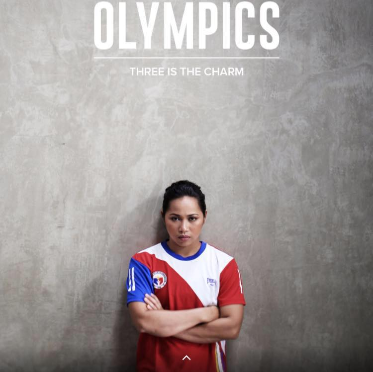 Diaz, the only medalist in Philippine contingent during the 2016 Summer Olympics in Rio de Janeiro, Brazil, will speak before more than 4,500 athletes after lighting the urn of peace and friendship with fellow lifters Asian Youth Junior silver medalist Maria Dessa delos Santos (53kg) and bronze medalist Kristel Macrohon (63kg). (Photo: Hidilyn Diaz/ Facebook)