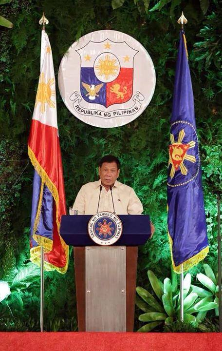 "President Rodrigo Duterte on Friday vowed to look into the secret jail discovered inside a police station in Tondo, Manila. (Photo: Rodrigo Duterte ""Disisais""/Facebook)"