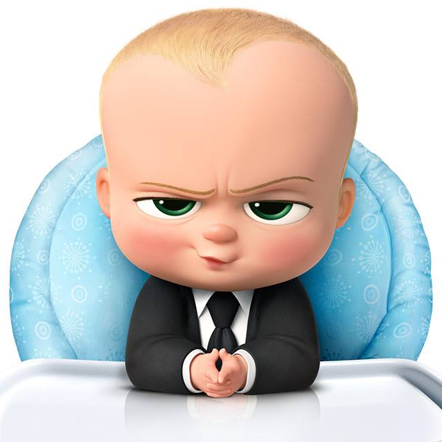 """Boss Baby"" also evokes Baldwin's old ""Glengarry Glen Ross"" character with quips like ""Cookies are for closers."" (Photo: The Boss Baby/ Facebook)"