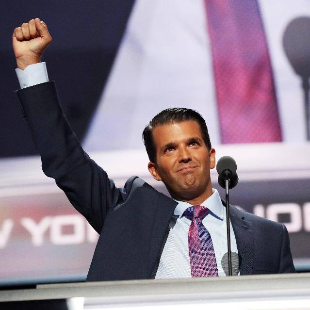 "Donald Trump Jr. travelled to Dubai and met a billionaire business partner in the city-state, discussing ""new ideas"" as the Emirati's real estate firm still lists possible plans for future joint projects while Trump's father is in the White House. (Photo: Donald Trump Jr./ Facebook)"