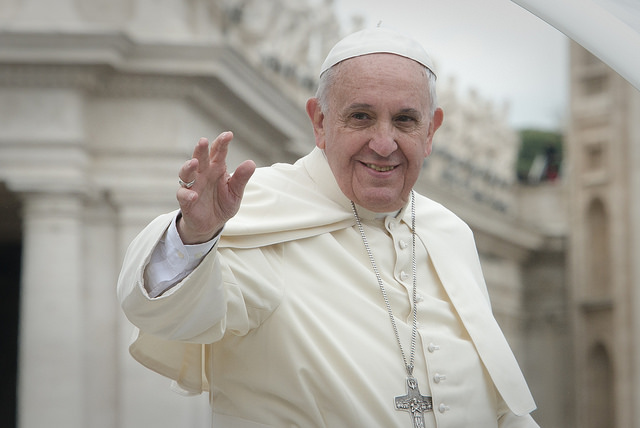 """The pontiff expressed his """"deep condolences"""" to the Coptic patriarch, Tawadros II, calling him """"my brother,"""" to the Coptic church and """"all of the dear Egyptian nation,"""" and said he was praying for the dead and injured in the attack that occurred just hours earlier as Francis himself was marking Palm Sunday in St. Peter's Square. (Photo: JEFFREY BRUNO/ Aleteia Image Department/ Flickr)"""