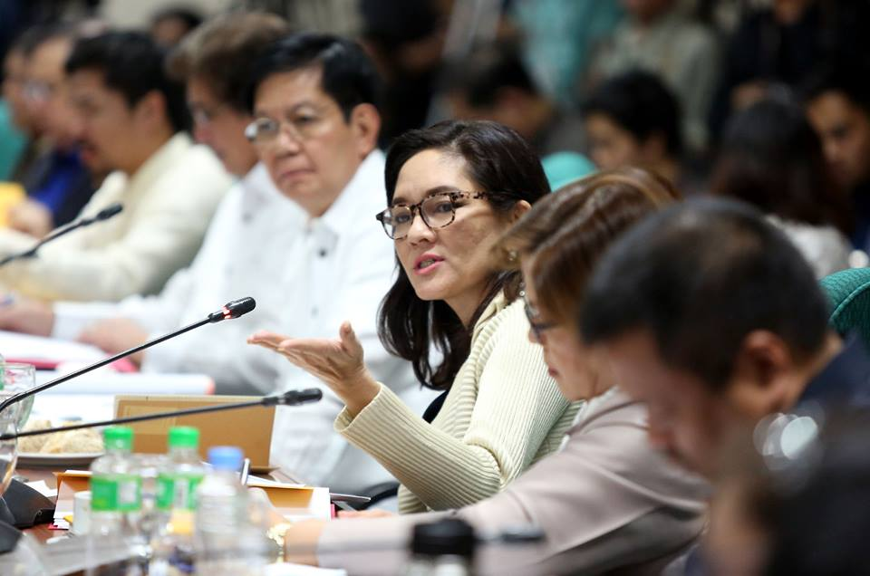 Sen. Risa Hontiveros said she is set to file a resolution seeking a probe into the killings of volunteer physicians and medical personnel. (Photo: Senator Risa Hontiveros/Facebook)