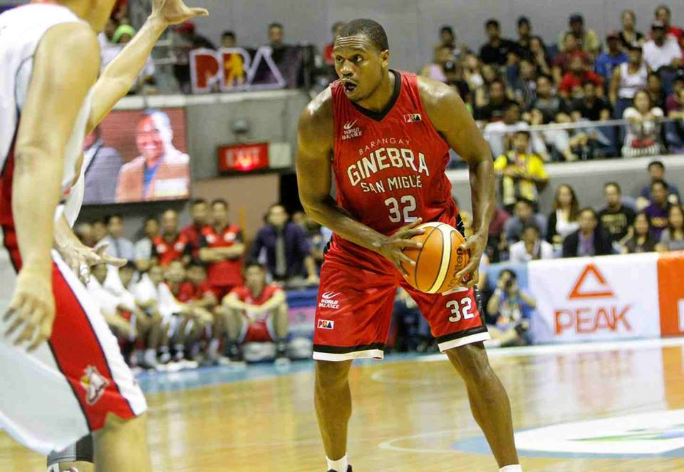 Justin Brownlee once again showed the way for Ginebra, which won its fourth straight game, with 34 points, 15 rebounds, six assists, two blocks, and one steal. (Photo: Justin Brownlee/ Facebook)