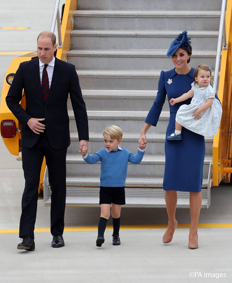 Kensington Palace said Monday that George, 3, and Charlotte, 1, will be page boy and bridesmaid at the May 20 nuptials of Middleton and financier James Matthews. (Photo: The Royal Family/ Facebook)