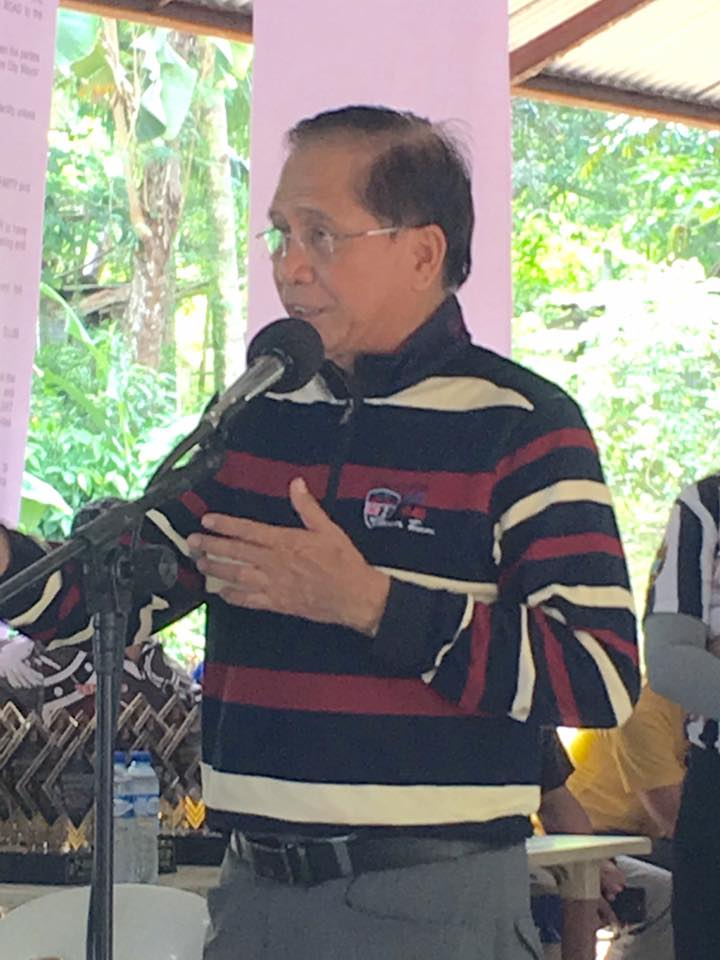 """There should only be one united effort towards autonomy for the Cordillera, that is our main intention,"" Dureza said in a press statement. (Photo: Jesus Jess Dureza/ Facebook)"
