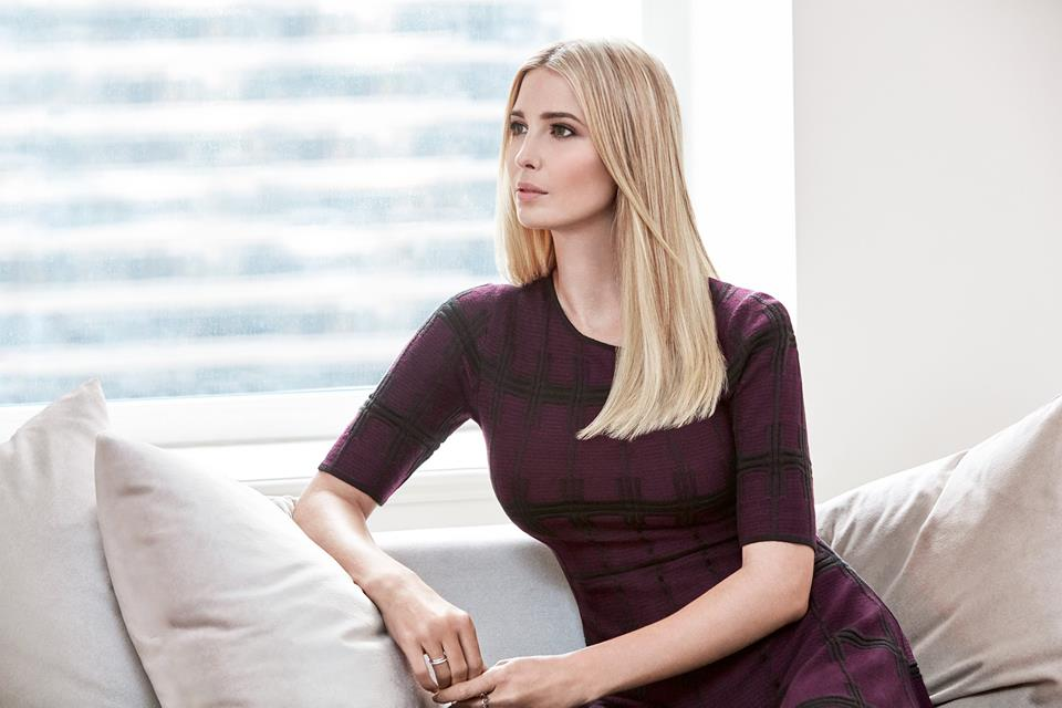 Fox News Channel host Jesse Watters, who was criticized this week for saying he enjoys Ivanka Trump's voice, says he's taking a family vacation until Monday. (Photo: Ivanka Trump/ Facebook)