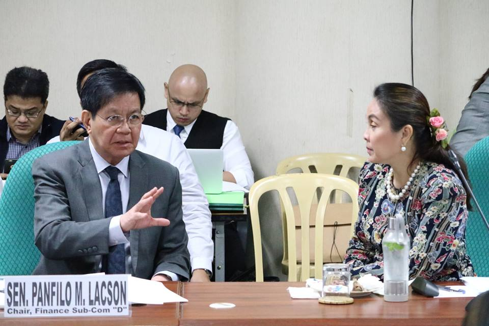 Sen. Panfilo Lacson on Monday lamented how the past congresses failed to give attention to a measure he filed seeking to create a National ID (identification) Reference System. (Photo: Senator Ping Lacson/Facebook)