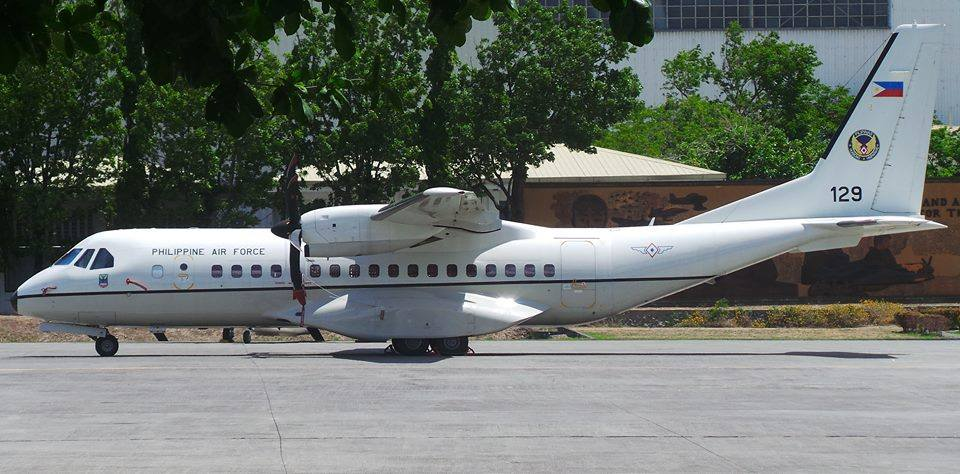 The Philippine Air Force (PAF) is allocating the sum of PHP30.31 million for the acquisition of spare parts needed for the maintenance of the communication and navigation system of its three brand-new Airbus Military C-295 medium transport aircraft. (Photo: Hukbong Sandatahan Ng Pilipinas/Facebook)