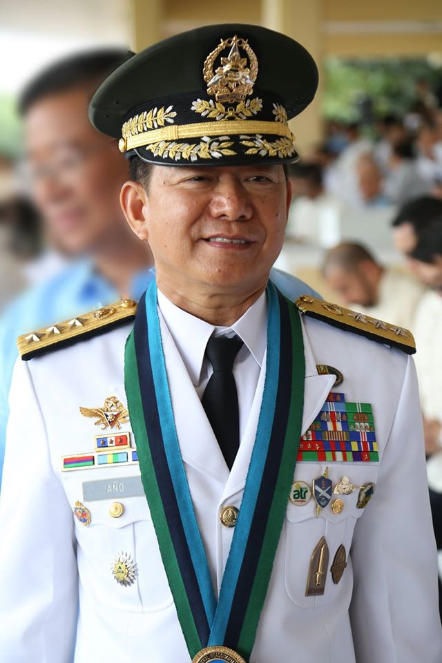 "Armed Forces of the Philippines (AFP) chief-of-staff Gen. Eduardo Año will retire on June 2 to pave the way for his transfer to the Department of Interior and Local Government (DILG), Department of National Defense (DND) Secretary Delfin Lorenzana said during the closing ceremonies of the annual ""Balikatan"" Friday.  (Photo: Armed Forces of the Philippines/ Facebook)"