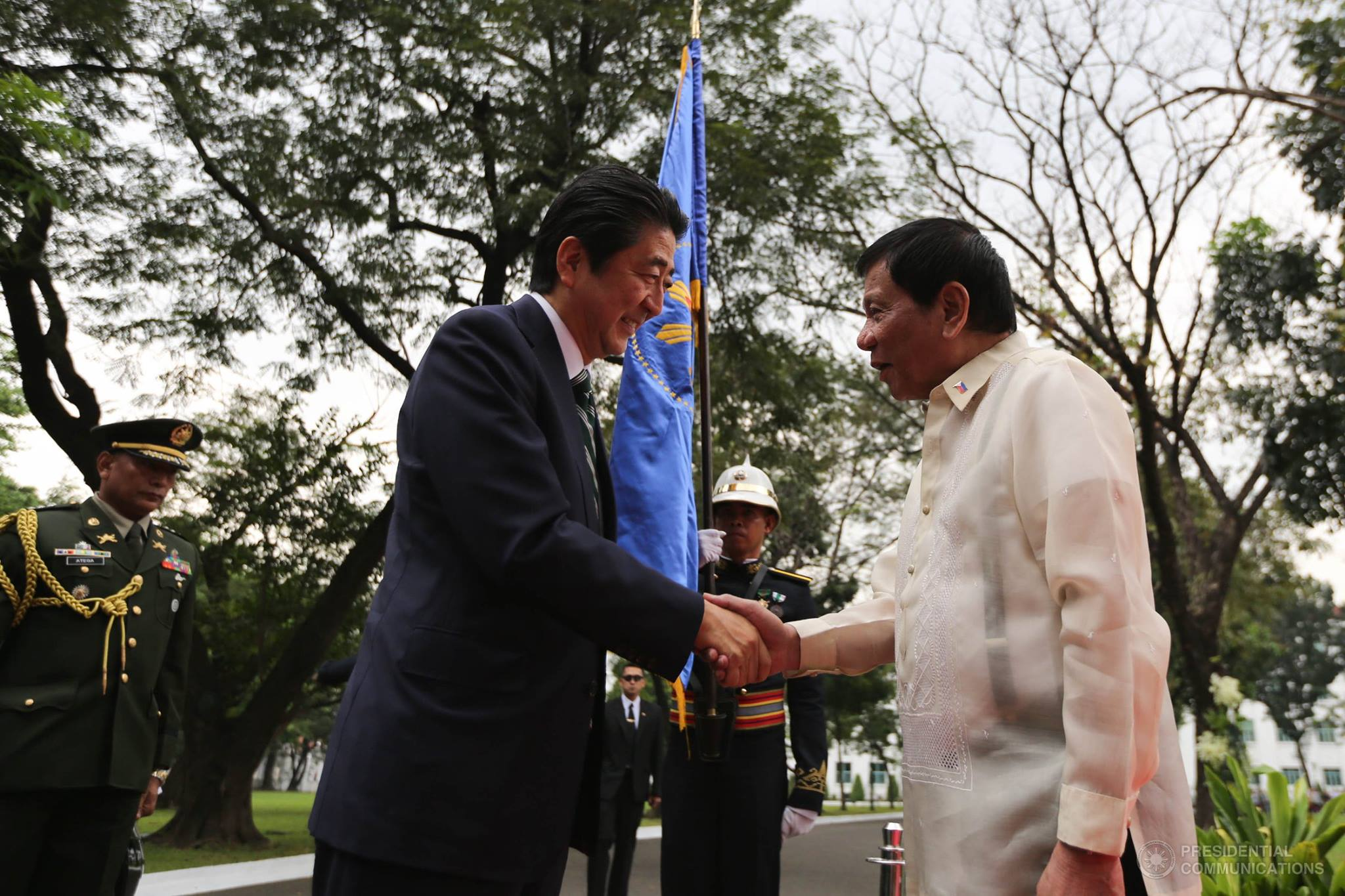 Japan's Abe, Duterte to sign agreement for Philippines' first subway