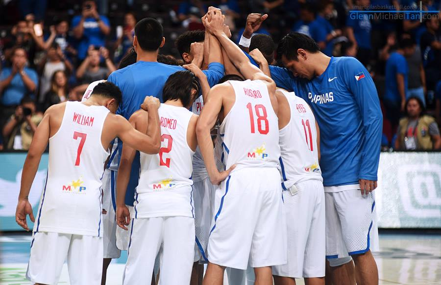 """But while the Gilas practice will be everyday from hereon, Reyes clarified, """"Those who have games will be excused on their game day and the day before."""" (Photo: Smart Gilas Basketball/ Facebook)"""