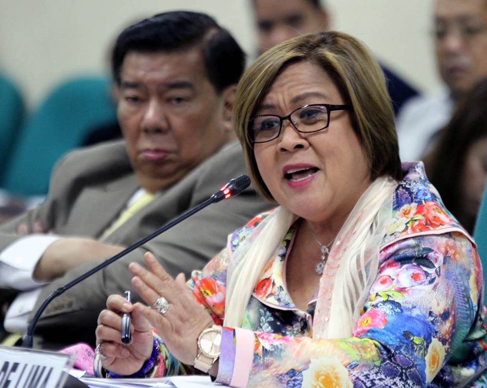 The three separate cases against De Lima, which accused her of receiving millions from the illegal drug trade in New Bilibid Prison, were raffled off to RTC Branch 204 Judge Juanita Guerrero, Branch 205 Judge Amelia Fabros-Corpuz and Branch 206 Judge Patria Manalastas-De Leon. (Photo: Leila De Lima/ Facebook)
