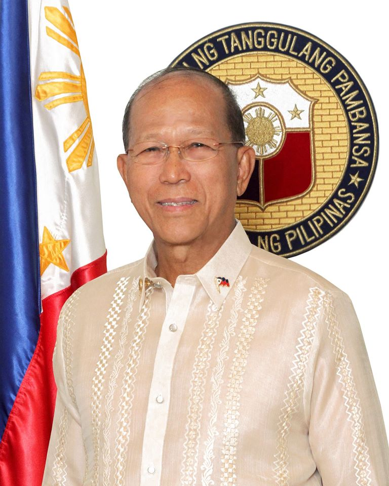 Rapid int'l response needed in wake of shrinking global community: DND chief (Photo: Delfin Lorenzana/ Facebook)