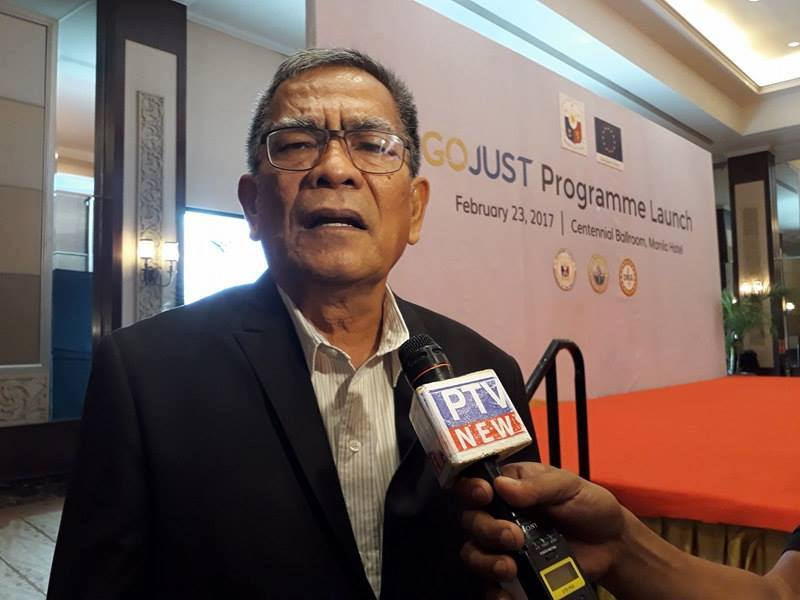 Former interior secretary Ismael Sueno said he tried to talk to President Rodrigo Duterte regarding allegations made against him by some supporters of the president. (Photo; PTV/Facebook)