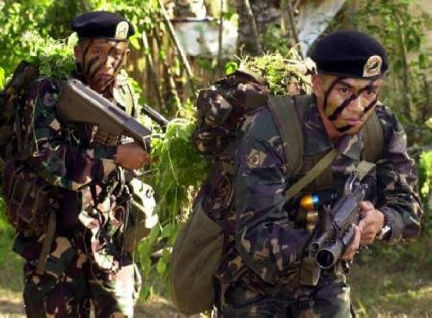 Kidnapping of local and foreign tourists frequenting Bohol's lovely beaches is the sole mission of the Abu Sayyaf Group (ASG) band which landed in Inabanga town on April 11, Armed Forces of the Philippines (AFP) public affairs office chief Col. Edgard Arevalo said Tuesday. (Photo: Armed Forces of the Philippines/Facebook)