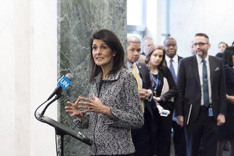 U.S. Ambassador Nikki Haley was determined to hold a Security Council meeting on the importance of human rights to international peace and security and it will happen on Tuesday — but only after the U.S. addressed objections from Russia, China and other council members. (Photo: Nikki Haley/Facebook)