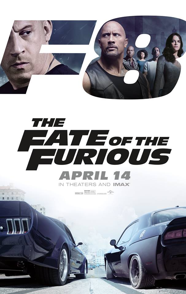 """The eighth film in the """"Fast and Furious"""" franchise revved up and hit the gas with a debut weekend of USD100.2 million in North America and USD432.2 million overseas.  (Photo: Fast & Furious/ Facebook)"""