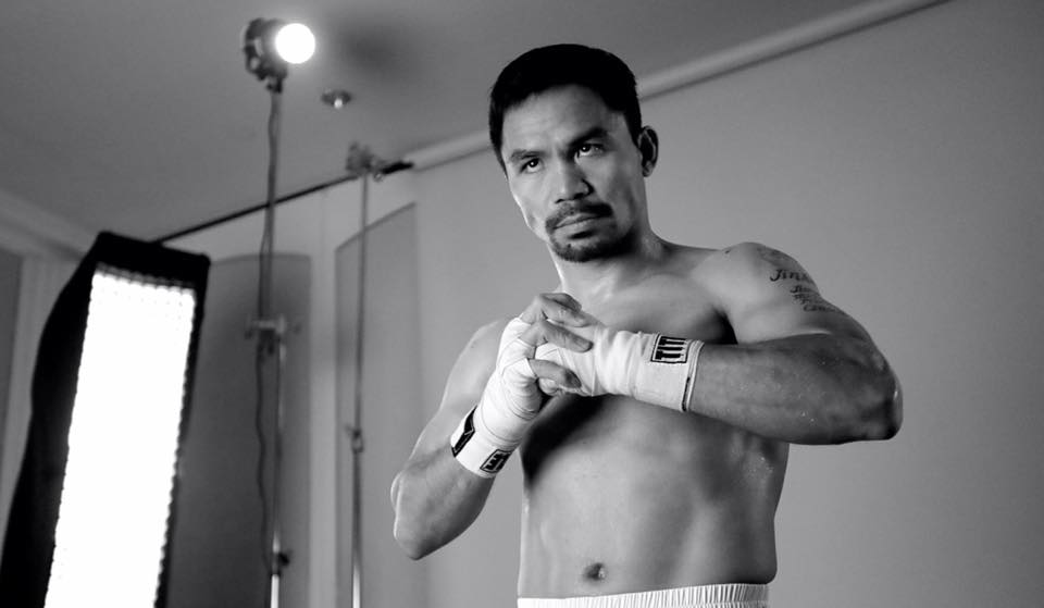 The 38-year-old Pacquiao, an 11-time champion across eight weight divisions and now a member of the Philippines senate, had intended the fight in Brisbane with local school teacher Horn to be a stepping stone to a more lucrative bout with former welterweight world champion Amir Khan. (Photo: Manny Pacquiao/ Facebook)
