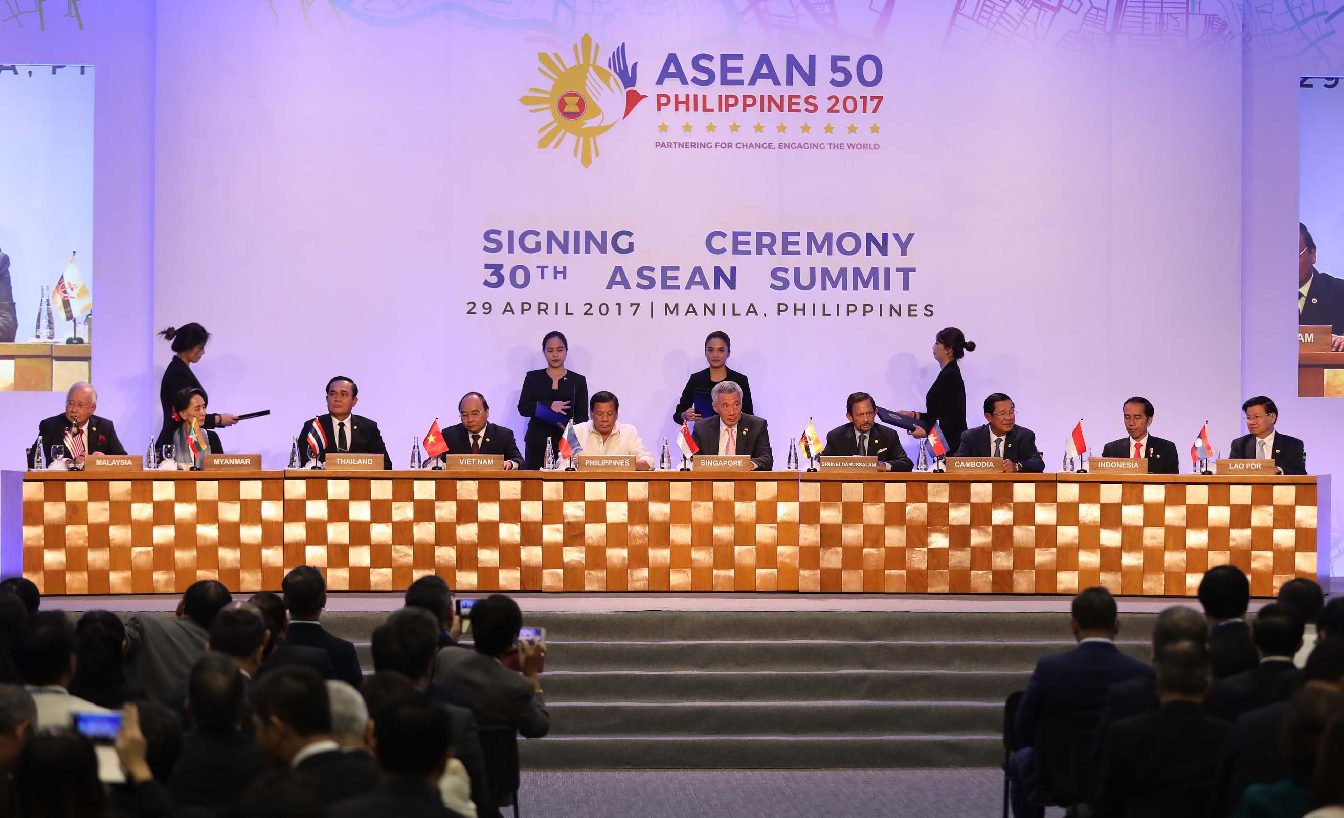 The 30th ASEAN Summit was held at the Philippine International Convention Center (PICC) in Pasay City. (Photo: Avito C. Dalan/ Philippine News Agency)